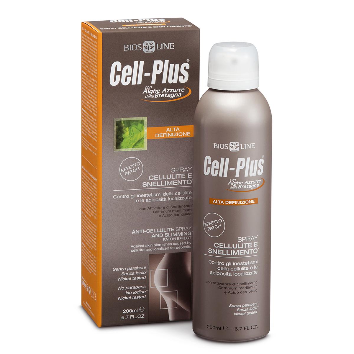 Spray Cellulite Snellimento Cell-Plus