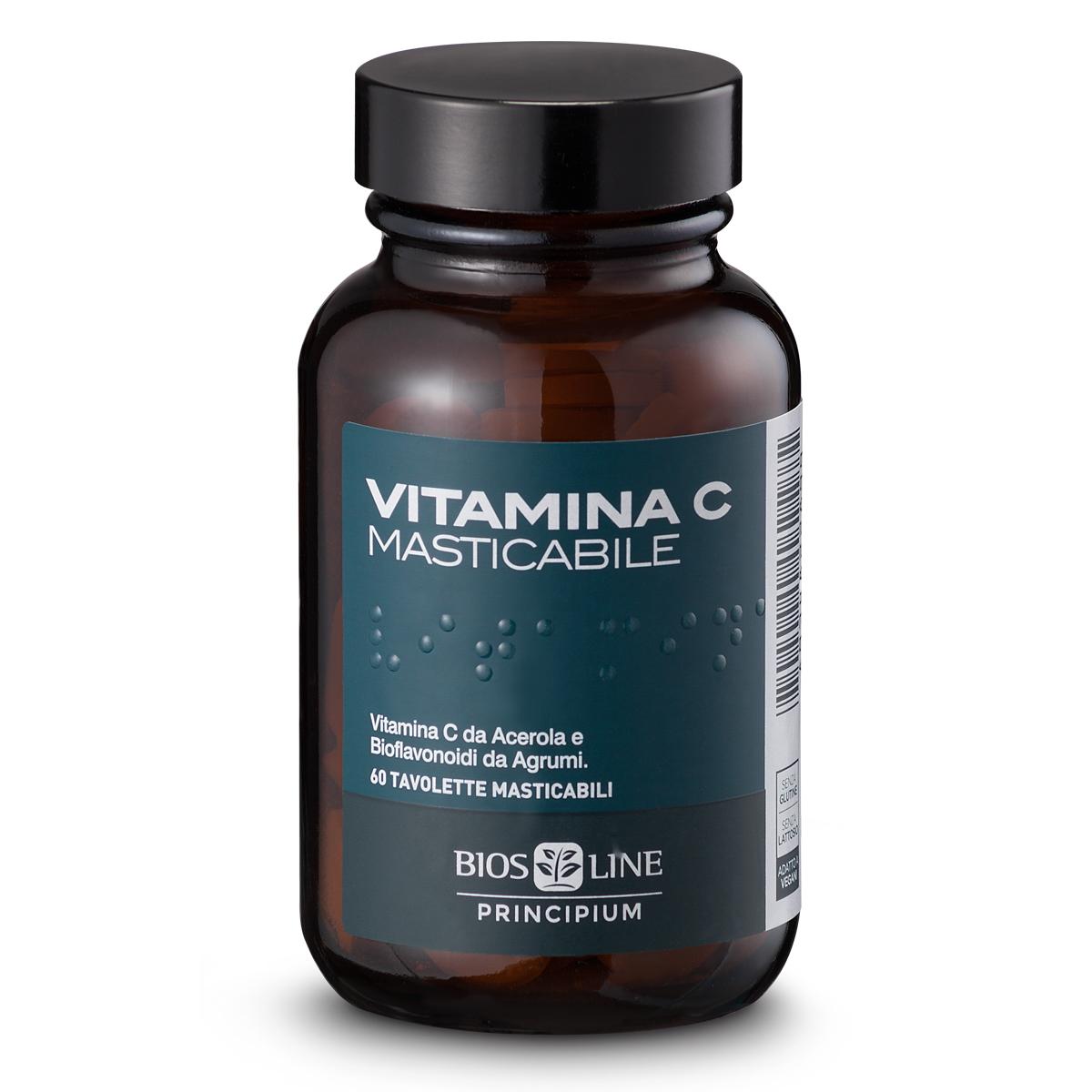 Vitamina C masticabile Principium Bios Line