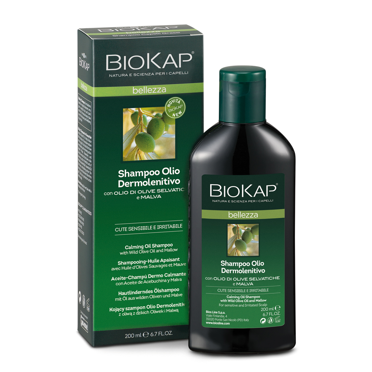 Shampooo Olio Dermolenitivo