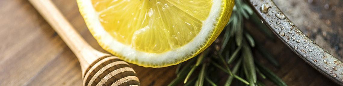 miele con limone