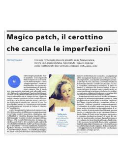 magico patch, il cerottino che cancella le imperfezioni