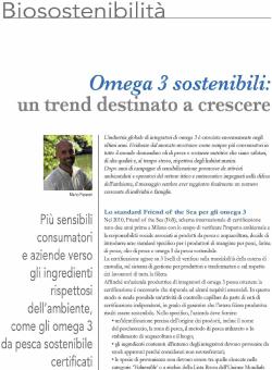 omega 3 sostenibili