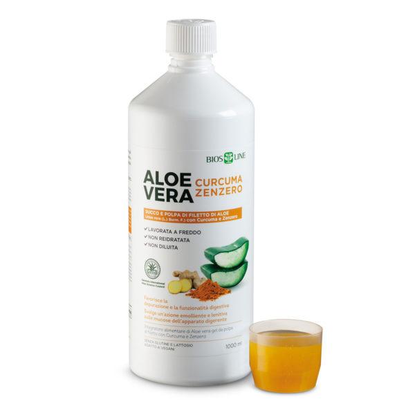 Aloe Curcuma e Zenzero Bios Line